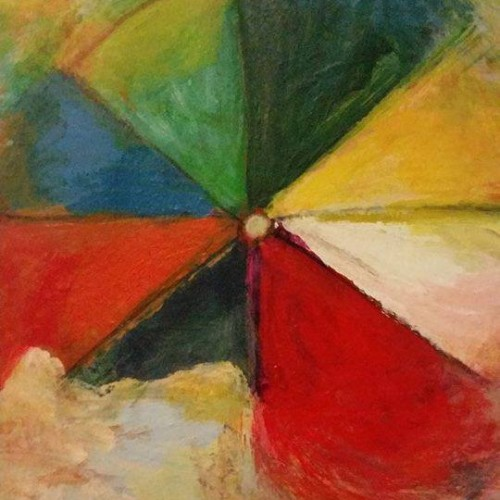 Vic Wade :: Beach Ball :: 22 x 30 :: Acrylic on watercolor paper :: 2014