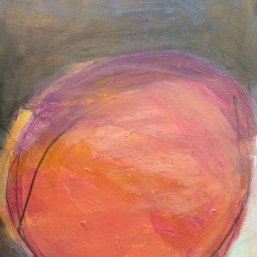 Vic Wade :: Other Side of a Solar Eclipse :: 22 x 30 :: Acrylic on watercolor paper :: 2014