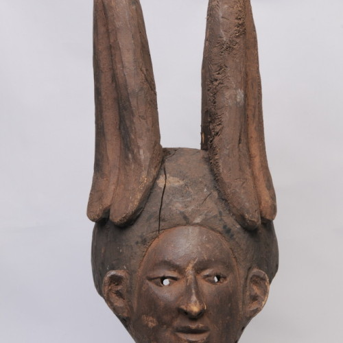 Ibo, wood mask, Nigeria