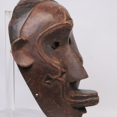Makonde Monkey mask, Tanzania left