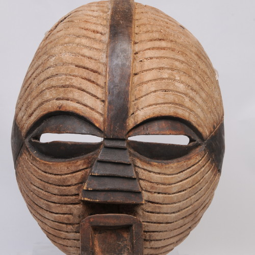 Luba mask, Mozambique center