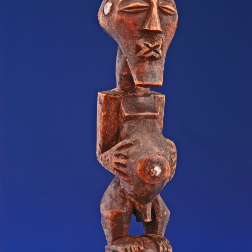 Yoruba Carved Ax front