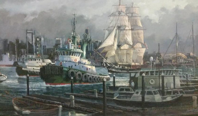 B2's AHOY! :: Maritime Art for a Maritime City