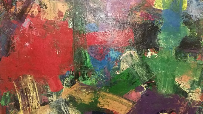 DRIVEN TO ABSTRACT :: B2 GALLERY SHOWCASES DIVERSE PAINTERS