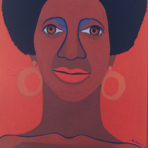 Ringgold Soul Sister l Oil on canvas l 36x18 l 1967