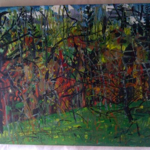 Spring LandscapeGolden Grove-oil on canvas-30x36